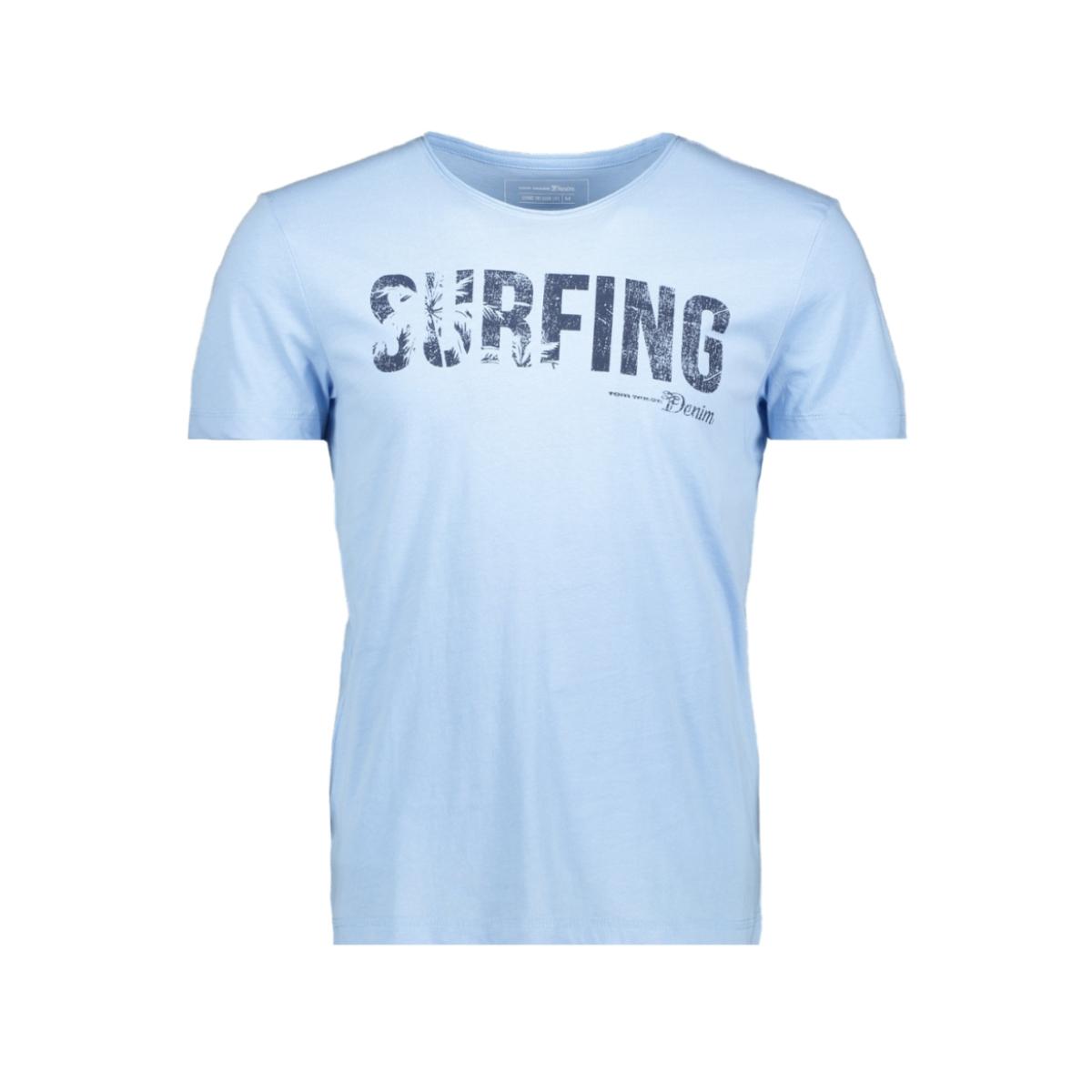 t shirt met tekst 1011137xx12 tom tailor t-shirt 17750