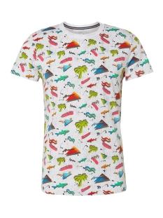 t shirt met all over print 1011386xx12 tom tailor t-shirt 18293