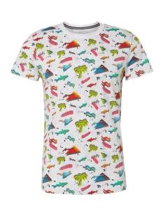 Tom Tailor T-shirt T SHIRT MET ALL OVER PRINT 1011386XX12 18293