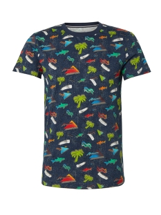 Tom Tailor T-shirt T SHIRT MET ALL OVER PRINT 1011386XX12 18294