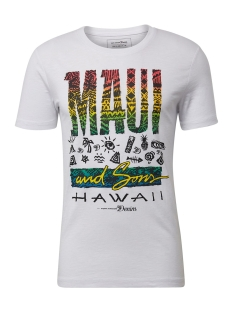 t shirt met print 1010043xx12 tom tailor t-shirt 20000
