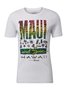 Tom Tailor T-shirt T SHIRT MET PRINT 1010043XX12 20000