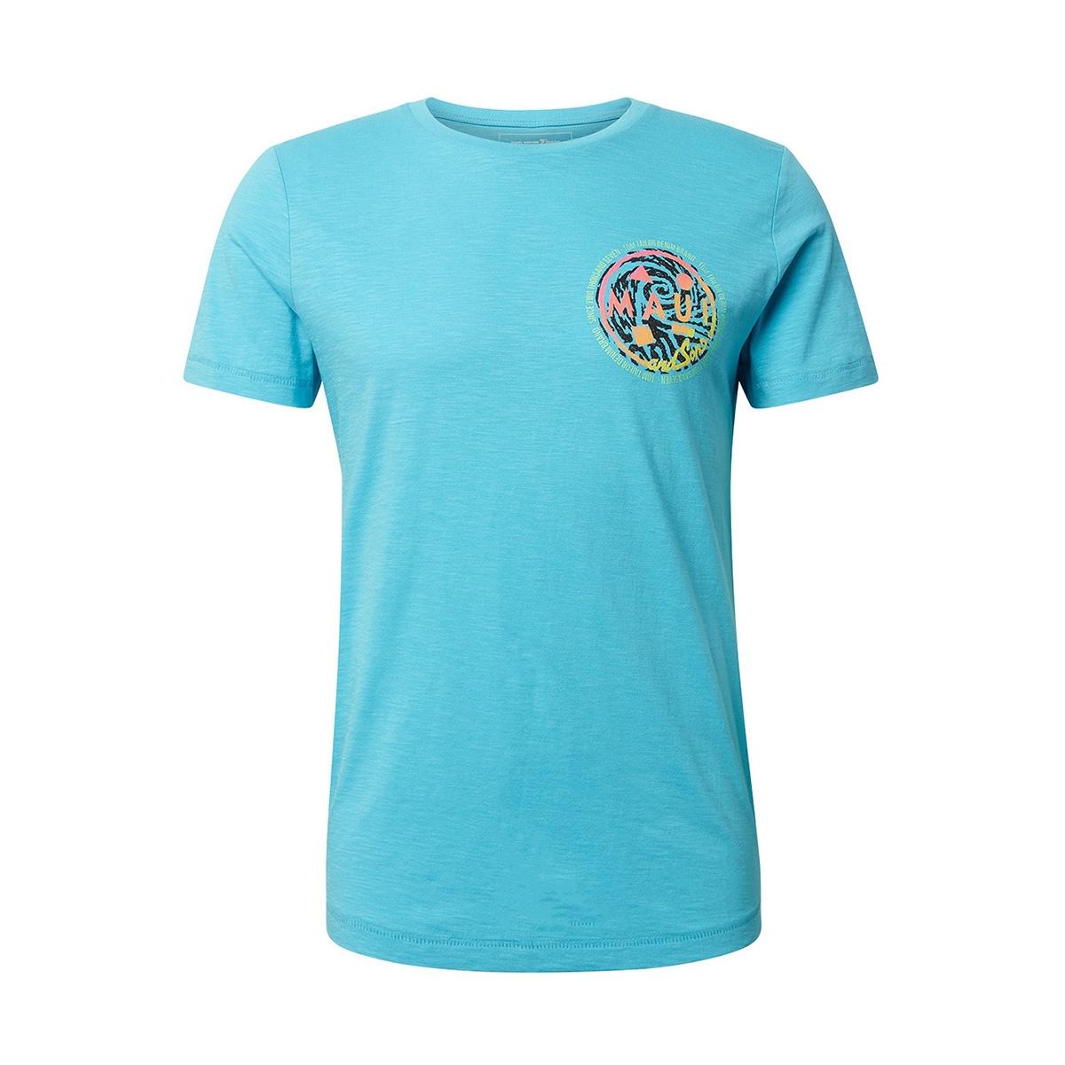 t shirt met print op de rug 1011383xx12 tom tailor t-shirt 16913
