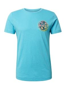 Tom Tailor T-shirt T SHIRT MET PRINT OP DE RUG 1011383XX12 16913