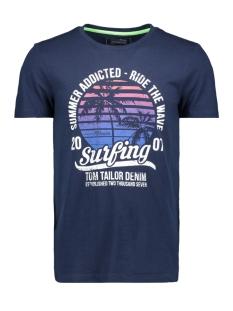 Tom Tailor T-shirt T SHIRT MET PRINT 1011136XX12 10915