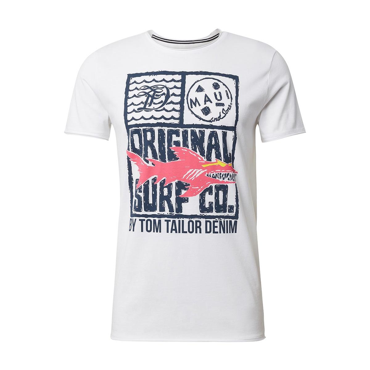 t shirt met print 1011384xx12 tom tailor t-shirt 20000