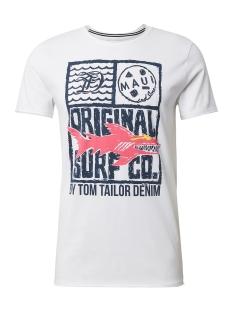 Tom Tailor T-shirt T SHIRT MET PRINT 1011384XX12 20000