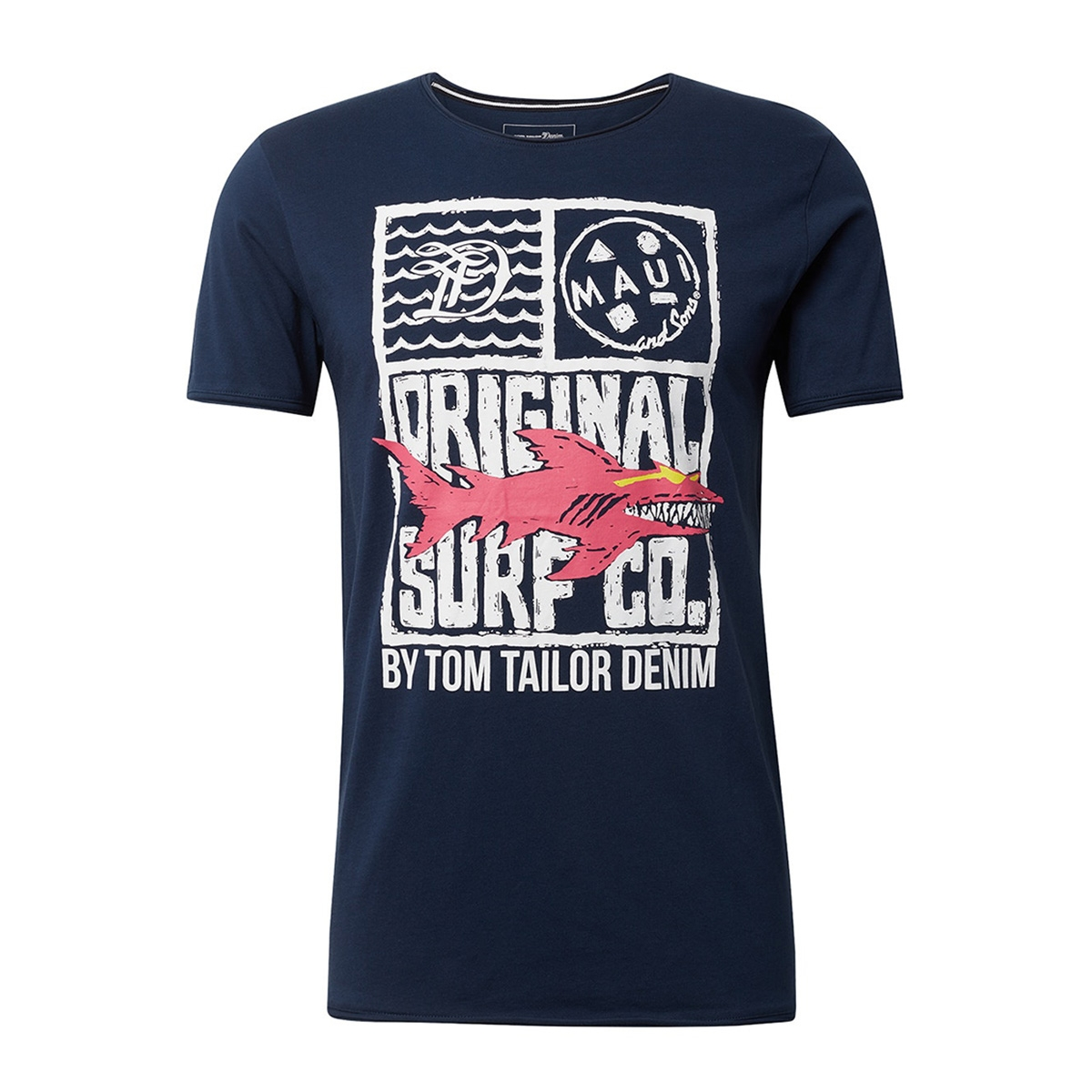 t shirt met print 1011384xx12 tom tailor t-shirt 10915
