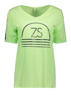 Zoso T-shirt SERENA PRINTED T-SHIRT 192 GREEN
