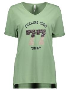 Zoso T-shirt SHEILA T SHIRT WITH APPLICAT 192 SAGE