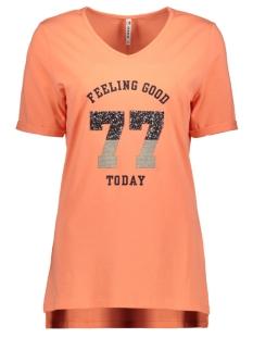 Zoso T-shirt SHEILA T SHIRT WITH APPLICAT 192 SALMON
