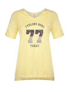 Zoso T-shirt SHEILA T-SHIRT 192 YELLOW