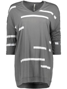 Zoso T-shirt VOQUE T-SHIRT PRINT 192 GREY/WHITE