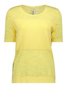 Zoso T-shirt KYRA KNITTED TOP 192 YELLOW