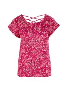 s.Oliver T-shirt T SHIRT MET OPEN RUG 14906326931 45B6