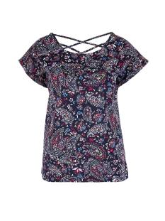 s.Oliver T-shirt T SHIRT MET OPEN RUG 14906326931 59B7
