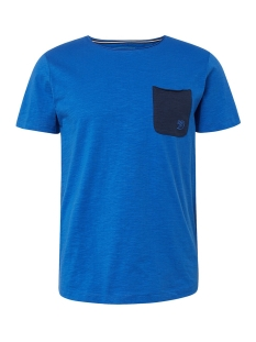 t shirt met borstzak 1010862xx12 tom tailor t-shirt 17551