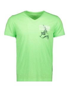 t shirt met print op de borst 1010860xx12 tom tailor t-shirt 17734