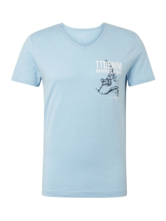 Tom Tailor T-shirt T SHIRT MET PRINT OP DE BORST 1010860XX12 17750