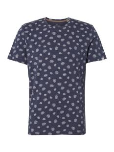 Tom Tailor T-shirt T SHIRT MET ALL OVER PRINT 1011496 17716