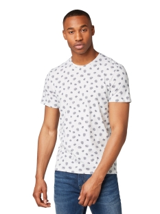 t shirt met all over print 1011496 tom tailor t-shirt 17986