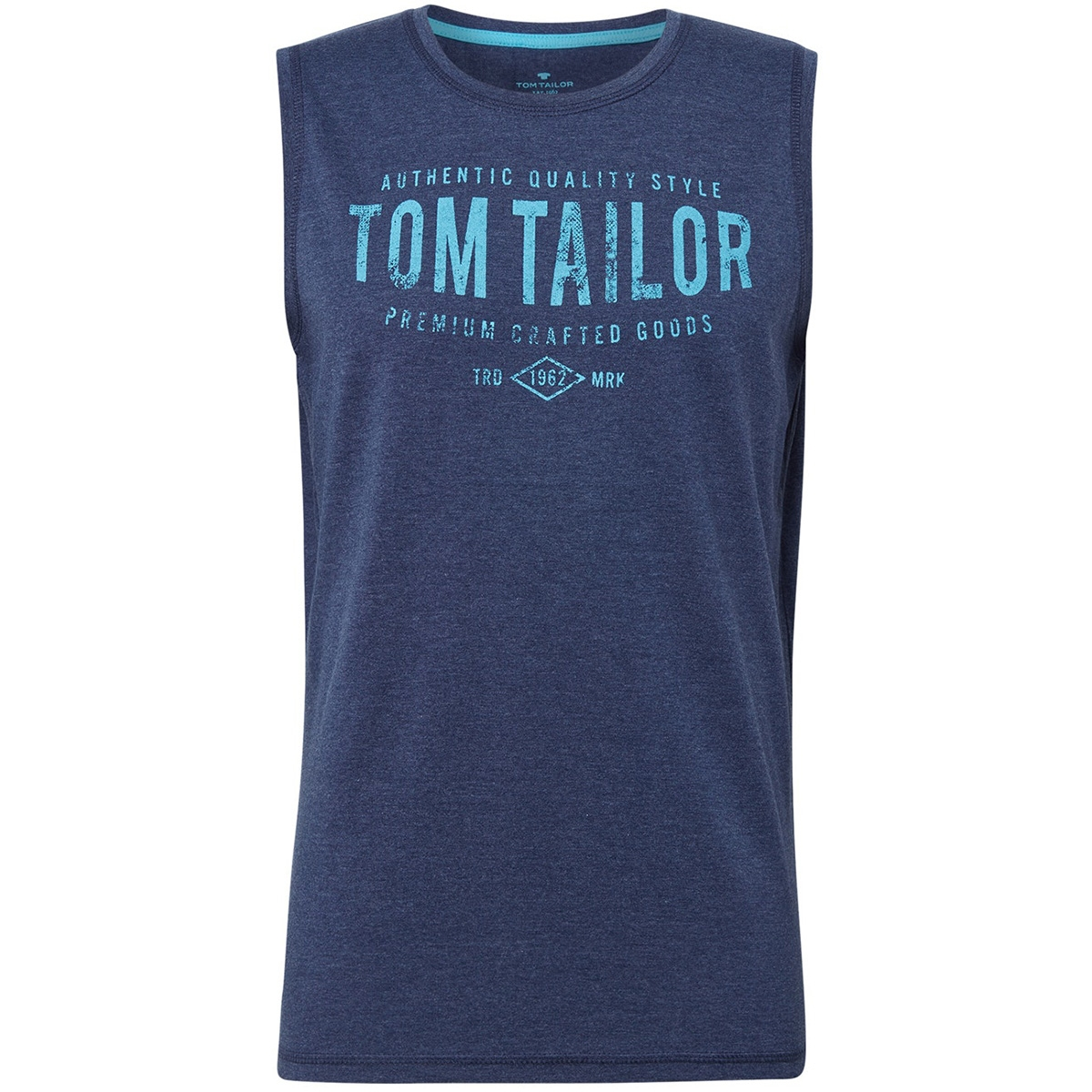 tanktop met all over print 1010784xx10 tom tailor t-shirt 17554