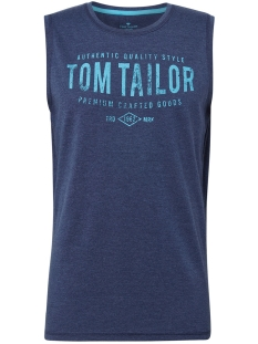 Tom Tailor T-shirt TANKTOP MET ALL OVER PRINT 1010784XX10 17554