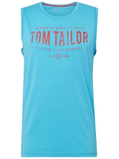 Tom Tailor T-shirt TANKTOP MET ALL OVER PRINT 1010784XX10 17555
