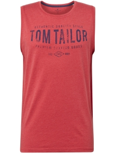 tanktop met all over print 1010784xx10 tom tailor t-shirt 17556