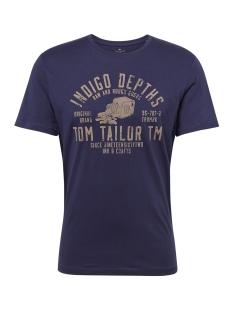 Tom Tailor T-shirt T SHIRT MET PRINT 1011494XX10 10748