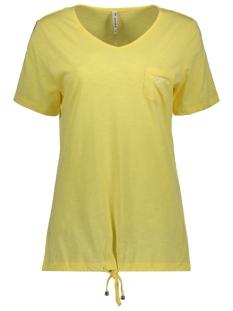 Zoso T-shirt SANNA SHIRT 192 YELLOW/WHITE