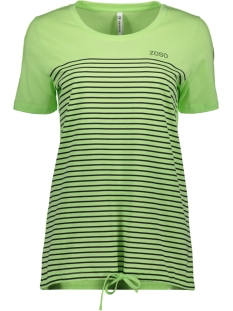 Zoso T-shirt HELGA T-SHIRT 192 GREEN/NAVY