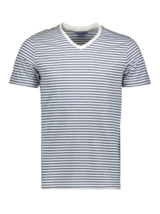 Jack & Jones T-shirt JORMARGO TEE SS V NECK 12160835 Cloud Dancer/SLIM