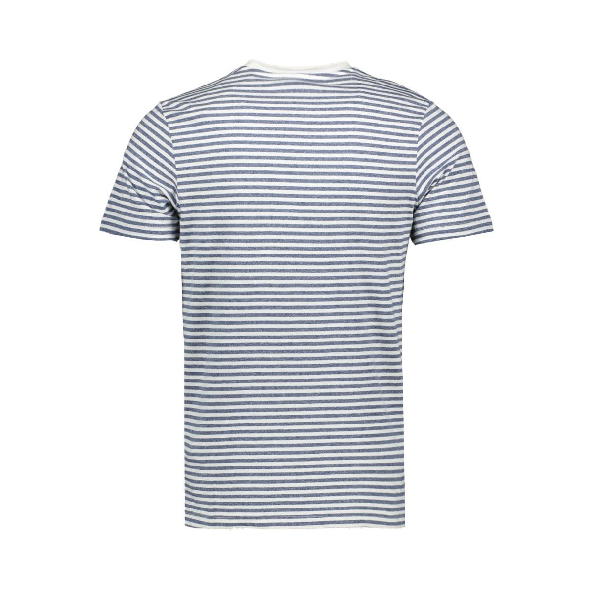 jormargo tee ss v neck 12160835 jack & jones t-shirt cloud dancer/slim
