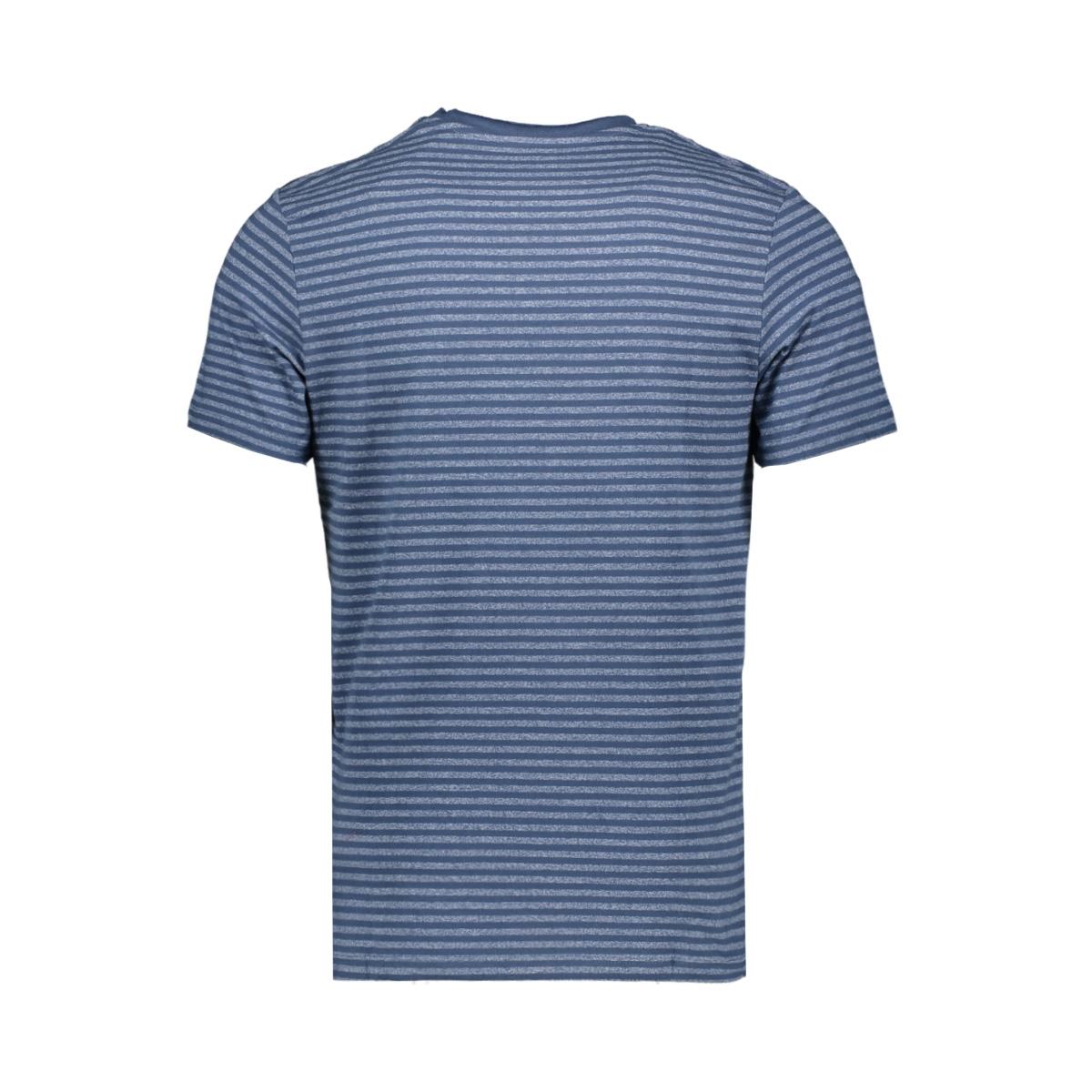 jormargo tee ss v neck 12160835 jack & jones t-shirt dark denim/slim