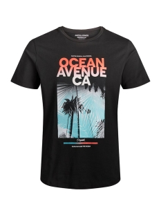 joroceanside tee crew neck 12156023 jack & jones t-shirt tap shoe