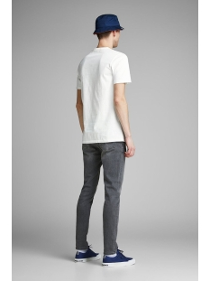 jprjohannes blu. tee ss crew neck 12154920 jack & jones t-shirt cloud dancer/slim fit