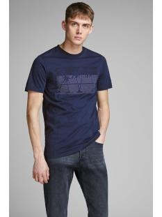 jprjohannes blu. tee ss crew neck 12154920 jack & jones t-shirt navy blazer/slim fit