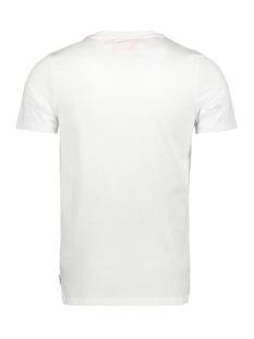 jcobay tee ss crew neck 12155198 jack & jones t-shirt white/slim