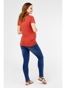 mltee s/s jersey top a. 20010076 mama-licious positie shirt tandori spice/front print