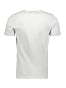 jcobooster tee ss crew neck june 19 12155989 jack & jones t-shirt white melange