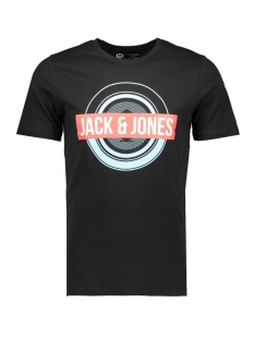 Jack & Jones T-shirt JCOBOOSTER TEE SS CREW NECK JUNE 19 12155989 Black