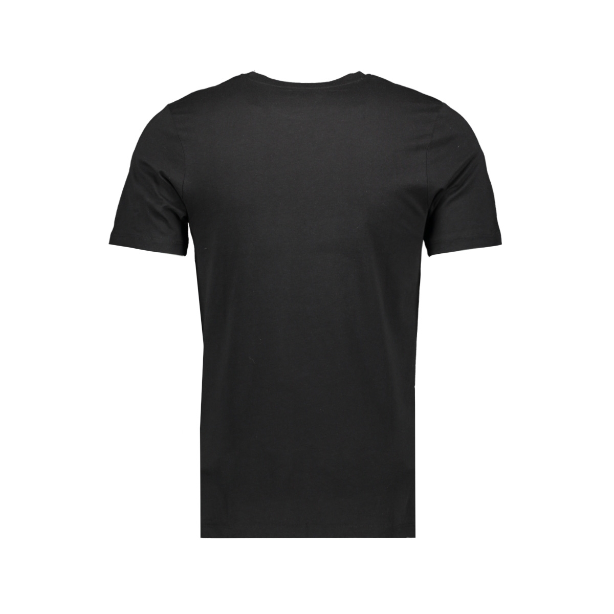 jcobooster tee ss crew neck june 19 12155989 jack & jones t-shirt black