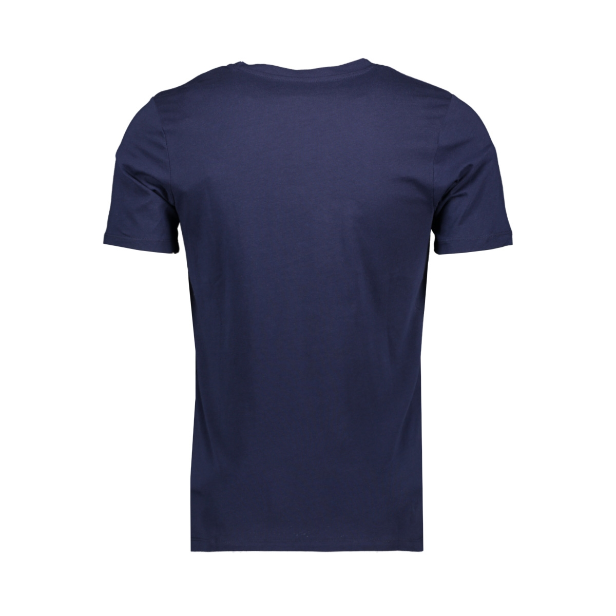 jcobooster tee ss crew neck june 19 12155989 jack & jones t-shirt maritime blue