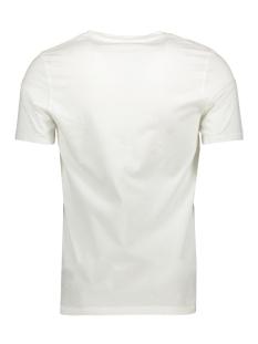 jprdept blu. tee ss crew neck 12156216 jack & jones t-shirt cloud dancer/slim fit