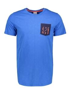 Jack & Jones T-shirt JCOCODES TEE SS CREW NECK 12155182 Victoria Blue/SLIM