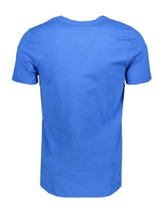 jcocodes tee ss crew neck 12155182 jack & jones t-shirt victoria blue/slim