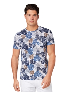 t shirt met all over print 1011499xx10 tom tailor t-shirt 17989