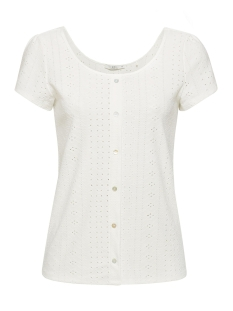 EDC T-shirt SHIRT MET OPENGEWERKT MOTIEF 059CC1K005 C110
