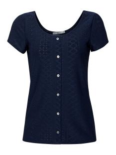 EDC T-shirt SHIRT MET OPENGEWERKT MOTIEF 059CC1K005 C400